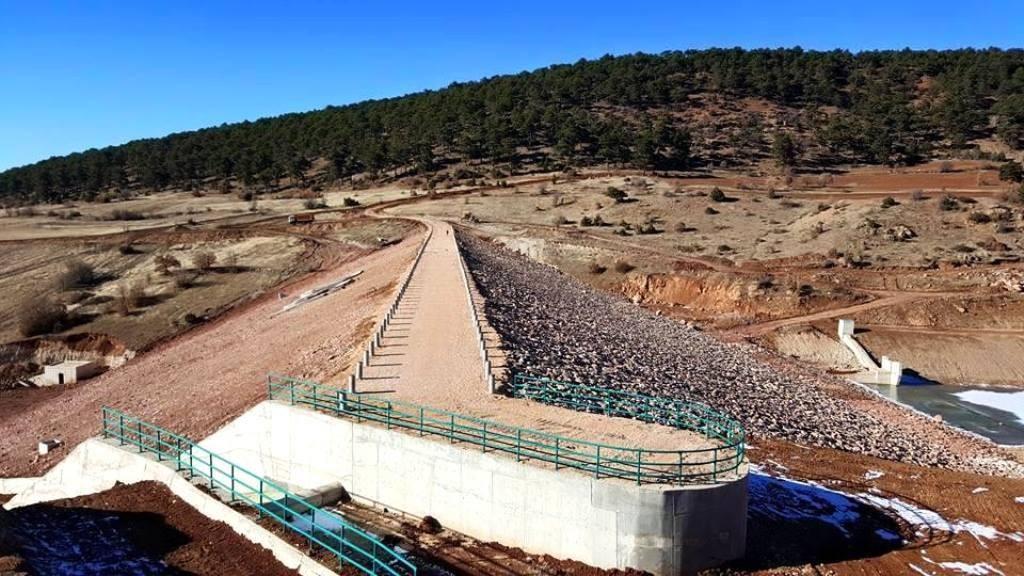 Konya - Ilgın Belekler Göleti ve Sulaması inşaatı İşimiz bitmiştir.